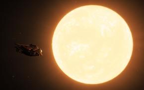 Picture ship, The game, Star, Elite: Dangerous, DIAMONDBACK EXPLORER, Aldebaran