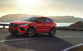Picture Jaguar, crossover, AWD, P250, 2019, E-Pace, Chequered Flag