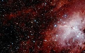 Picture Stars, Nebula, VST, VLT Survey Telescope, Messier 16, Gas Clouds, H II Region, Sharpless 2-54, …
