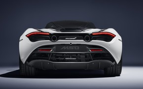 Picture McLaren, supercar, rear view, 2018, MSO, 720S, Track Theme