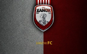 Picture Greek Super League, Xanthi, football, sport, wallpaper, logo