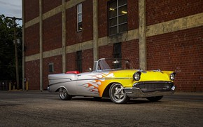Picture Chevrolet, Bel Air, Convertible, Vehicle