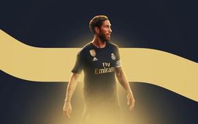 Picture Football, Sport, Soccer, Defender, Sergio Ramos, Spanish, Captain, Real Madrid CF, Madridista
