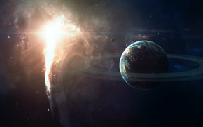 Picture Stars, Planet, Space, Nebula, Star, Light, Light, Ring, Star, Art, Stars, Space, Blik, Art, Ring, …