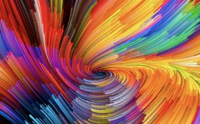 Picture pattern, paint, spiral