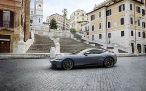 Picture Italy, Ferrari, supercar, Roma, 2020