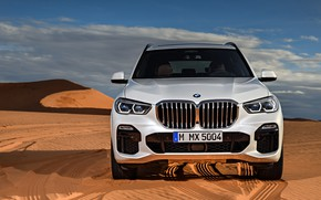 Picture BMW, front view, 2018, Sport, crossover, X5 M, XDrive30d