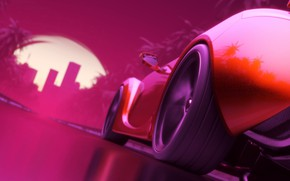 Picture Auto, Machine, Graphics, Art, Electronic, Rendering, Sport Car, Synthpop, Darkwave, Synth, Retrowave, Synth-pop, Sinti, Synthwave, …