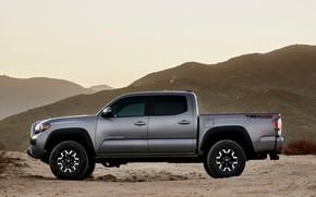 Picture Toyota, pickup, in profile, Tacoma, 2020
