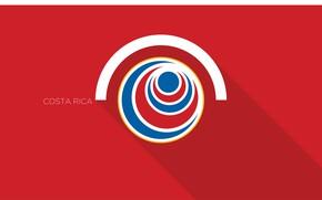 Picture wallpaper, sport, logo, football, Costa Rica