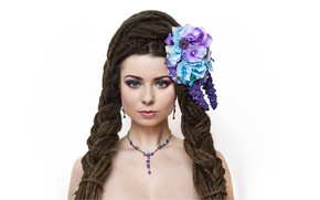 Picture hair, model savra, polish model