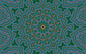 Picture pattern, color, kaleidoscope