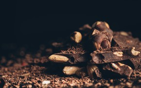 Picture Chocolate, sweets, nuts