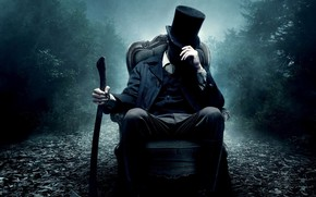 Picture chair, hat, costume, guy
