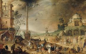 Picture oil, picture, Claes Jacobsz van der Heck, Claes jacobsz van der heck, 1636, Allegory Of …