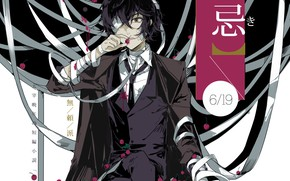 Picture guy, gangster, mafia, Bungou Stray Dogs, Stray Dogs: A Literary Genius