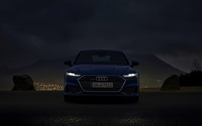 Picture Audi, the evening, 2019, A7 Sportback