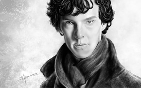 Picture art, Sherlock Holmes, Martin Freeman, Benedict Cumberbatch, Sherlock, Sherlock BBC, Sherlock Holmes, John Watson, Sherlock …