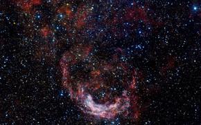 Picture Carina, Nebula, Constellation Carina, HD 89358, Wolf-Rayet star, NGC 3199, OmegaCAM, H II Region
