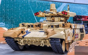 Picture armor, Terminator, BMPT, The Russian Army, Exhibition, Object 199, Forum «ARMY 2018», BMPT Object 199 ...