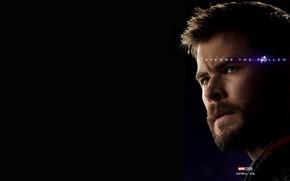 Picture Thor, Chris Hemsworth, Avengers: Endgame, Avengers Finale, Terpily Thanos