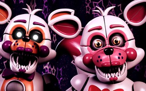 Picture animals, the game, doll, pair, toothy, Five Nights at Freddy's, mechanical dolls, Five nights at …