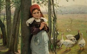 Picture 1880, oil on canvas, Czech painter, Czech painter, National Gallery in Prague, National gallery in …