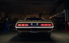 Picture Chevrolet, 1969, Camaro, Lights, Garage, Chevrolet Camaro, Muscle car, Classic car, Wide Body Kit, Sports …