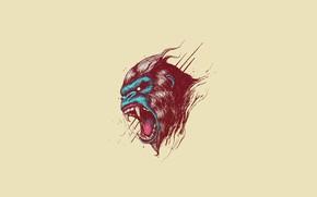 Picture Minimalism, The game, Monkey, Face, Helix, by Bogdan Timchenko, Bogdan Timchenko, Primal Rage, Atari Games, …