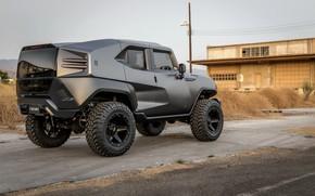 Picture SUV, building, 2017, Rezvani, Tank V6
