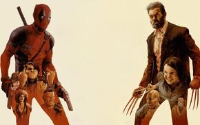 Picture Minimalism, Figure, Sword, Background, Mask, Wolverine, Swords, Art, Art, Wolverine, Hugh Jackman, Logan, Hugh Jackman, …