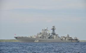 Picture ship, large, anti-submarine, Vice Admiral Kulakov, проект1155