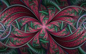 Picture pattern, paint, symmetry