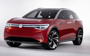 Picture Volkswagen, crossover, 2019, ID Roomzz, Roomzz