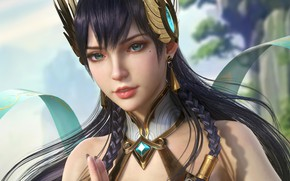 Picture look, girl, Irelia, League Of Legends