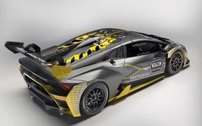 Picture Lamborghini, racing car, 2018, Huracan, Super Trophy Evo