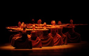 Picture dancing, ballet, Alvin Ailey American Dance Theater