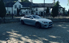 Picture HDR, BMW, House, Sky, Flower, Tree, Coupe, Game, Chair, Garden, BMW M6 Coupe, FM7, UHD, …