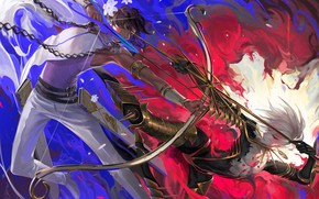 Picture arrows, guys, arrows, Fate / Grand Order, The destiny of a great campaign