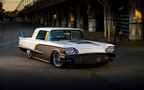 Picture Ford, Car, Custom, Thunderbird, Ford Thunderbird