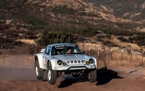 Picture jump, 911, Porsche, 964, 2019, 911 Baja Prototype, Russell Built Fabrication
