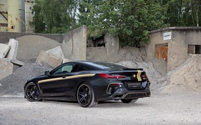 Picture BMW, rear view, Manhart, 8-Series, 2019, G15, M850i, XDrive, MH8 600