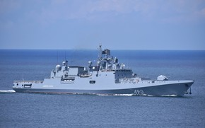 Picture the black sea, frigate, Navy, patrol, Admiral Essen