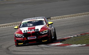 Picture coupe, turn, BMW, track, M4 GT4