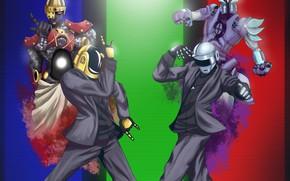 Picture by TrisketTheBisket, Thomas Bangalter, Background, JOJO, JOJO and Daft Punk, TrisketTheBisket, Guy Manuel de Homem …