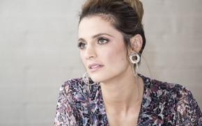 Picture look, face, pose, makeup, actress, hairstyle, face, hair, look, Stana Katic, Stana Katic, pose, Mill …