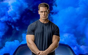Picture male, blue smoke, The fast and the furious 9, Fast & Furious 9