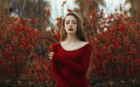 Picture girl, nature, Helena
