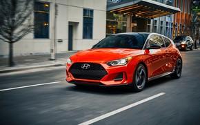 Picture Hyundai, hatchback, Turbo, 2018, Veloster