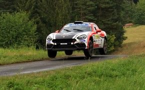 Picture jump, rally, 2018, Abarth, 124 Rally